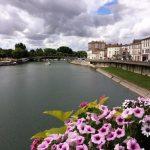 Vue de la Charente à Saintes